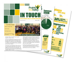 In Touch Template - Prairie Valley School Division