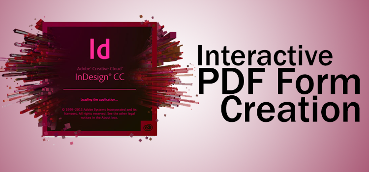 Create PDF form using InDesign